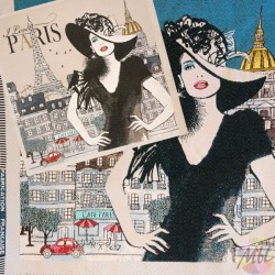 Love Paris jacquard