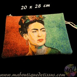 Pochette mode Frida Kahlo