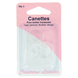 Canette machine Singer Brother Janome